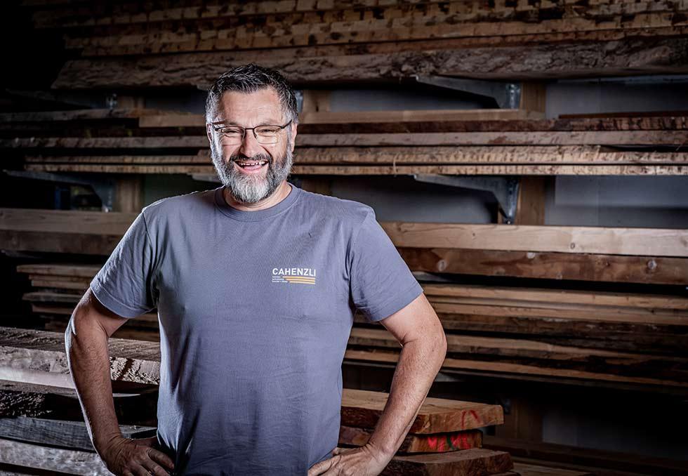 Portrait Von Pierino Salis
